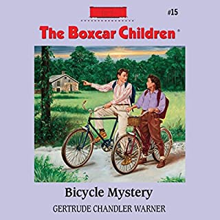 Bicycle Mystery audiobook cover art