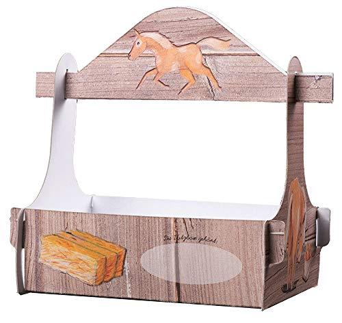 4 cajas de limpieza para caballos de cumpleaños para niños – obsequios Giveaway caja de regalo para niños