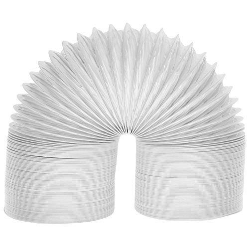 """Spares2go Extra Larga Universal de Condensador de Tubo de ventilación Manguera para Todas Las Marcas y Modelos de ventilación Secadora de Ropa (6m / 4\"""")"""