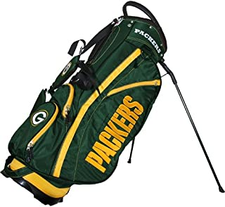 Team Golf NFL Fairway Golf Stand Bag, Lightweight, 14-way Top, Spring Action Stand, Insulated Cooler Pocket, Padded Strap, Umbrella Holder & Removable Rain Hood