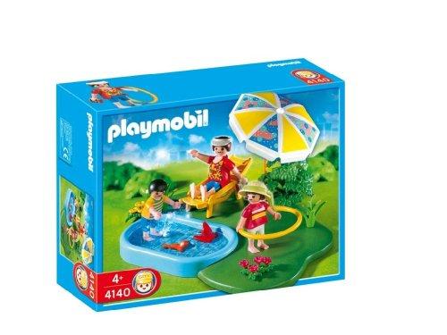 Playmobil - 4140 - Compact set famille et pataugeoire