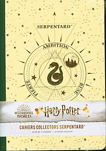 Harry Potter constellations : pack de 3 cahiers Serpentard