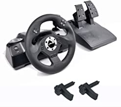 $109 » GAMEMON RACING WHEEL COMPATIBLE WITH PS3/PC WITH CLAMP