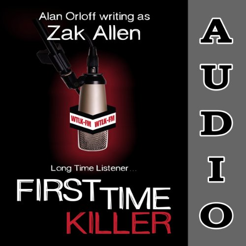 First Time Killer audiobook cover art