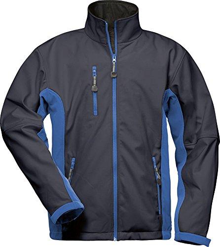 CRAFTLAND Softshell-Jacke - 19990 - Marine/Royalblau - Größe: 3XL