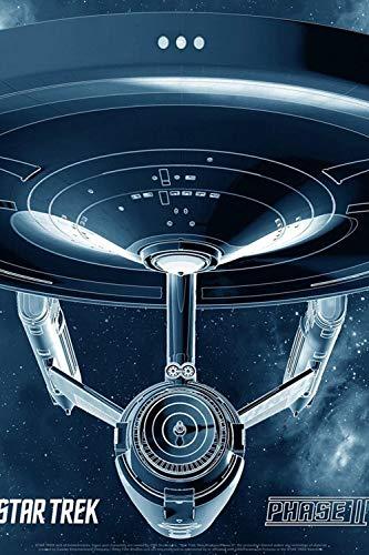 axqisqx 40x60cm- Diamond Painting Kit Completo Diy 5D Personalizado Niños Rhinestone Adultos Rhinestone Bordado Arte -Star Trek New Voyages