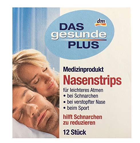 Das gesunde Plus (Mivolis) Nasenstrips (Anti-Schnarch-Pflaster) 12 Stk