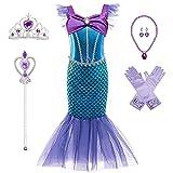BanKids Meerjungfrau Kostüm Kinder Mädchen Dress...