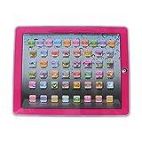 Fdit Learning Pad tablet elettronico educativo per bambini a imparare attività per lettere, parole, numeri o bambini Pink