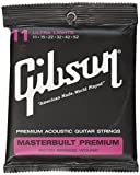 Gibson Masterbuilt Premium 80/20 Bronze Acoustic Guitar Strings 11-52 Ultra Lights