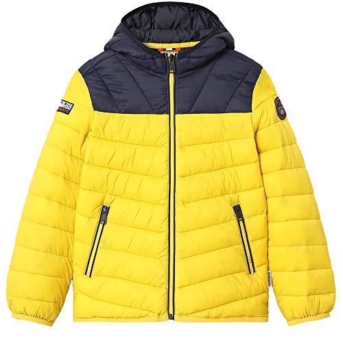 NAPAPIJRI Aerons - Chaqueta para niño, color amarillo, cód. NA4EPMYA8 amarillo 8 años