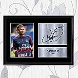 Inspired Walls signierter Fotodruck von Neymar Jr, PSG, als
