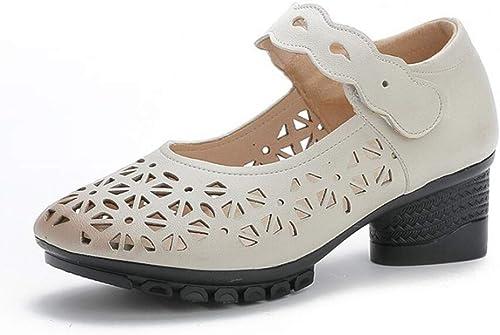 XL_nsxiezi Sandales pour Femmes Femmes Femmes avec des Chaussures de mère ea6