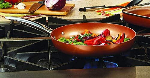 Copper Chef 12' Round Pan with Lid