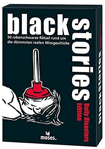 black stories - Daily Disasters Edition: 50 rabenschwarze Rätsel rund um die dümmsten realen Missgeschicke