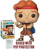 Funko Pop! Disney: Hercules - Hercules Vinyl Figure (Bundled with Pop Box Protector Case)