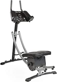 XtremepowerUS Abdominal Crunch Coaster Fitness Equipment, Workout Machine