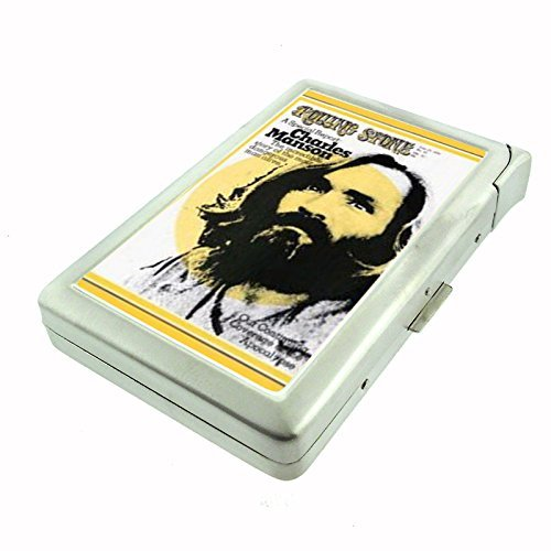 Charles Manson 1970 Rolling Stone Cigarette Case with Built In Lighter D-390
