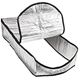 Konesky Attic Stairway Insulator Cover-25 x 54 x 11 Attic Door Ladder Insulation Pull Down Tent with Zipper