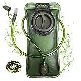 Hydration Bladder 2 Liter Leak Proof Water Reservoir, Military Water Storage Bladder Bag, BPA Free...