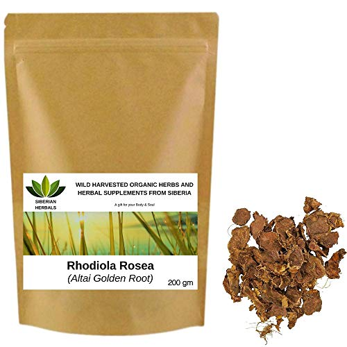 Wild Harvested Organic Rhodiola Rosea Root, Altai Golden Root from...