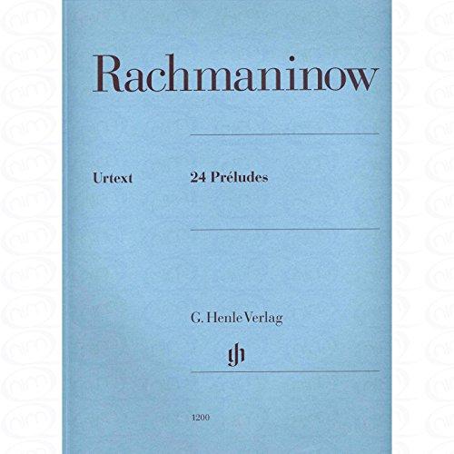 24 PRELUDES - arrangiert für Klavier [Noten/Sheetmusic] Komponist : RACHMANINOFF SERGEJ
