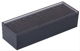 キングジム 名刺整理箱 75クロ