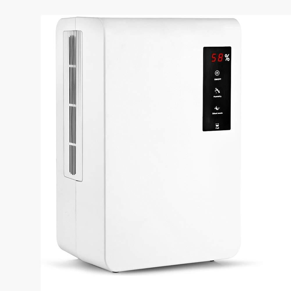 GGRYX 3L Deshumidificador Electrico, Deshumidificador Purificador Aire con Ionizador Tanque De Agua Extraíble, Mini Deshumidificador para Habitaciones como El Hogar,White: Amazon.es: Hogar