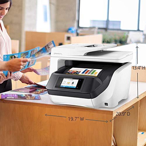 HP OfficeJet Pro 8720 Inyección de Tinta térmica 24 ppm 4800 x 1200 dpi A4 WiFi - Impresora multifunción (Inyección de Tinta térmica, 4800 x 1200 dpi, 250 Hojas, A4, Impresión Directa, Negro, Blanco)