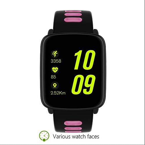 Montre Connectée,Cardiofréquencemètres Montre Connectée,Pédomètre Fitness Tracker d'Activité Montre Connectée avec Cardiofréquencemètres Pédomètre pour Android et iOS