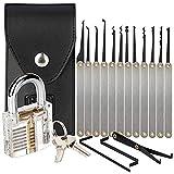 SUNIY Stainless Steel multi-function with Lock Set 15Pack (DIYS) (Black)