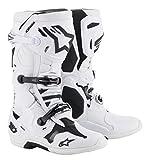 Alpinestars Men's Tech 10 Motocross Boot, White, 11