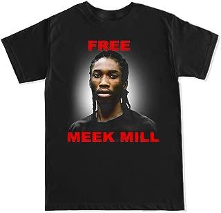 Men's Free Meek Mill T Shirt