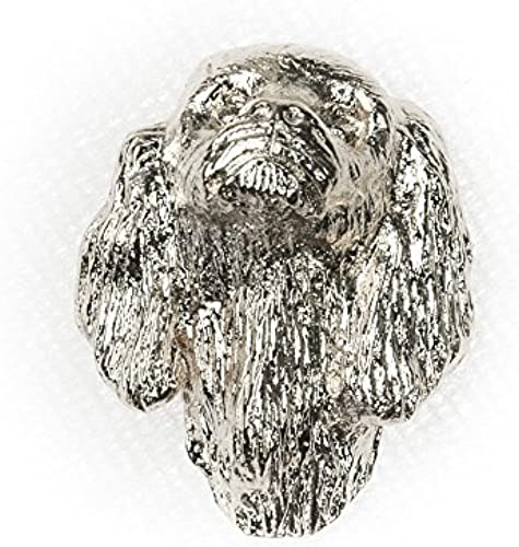 KING CHARLES SPANIEL Made in U.K Artistic Style Dog Clutch Lapel Pin Collection by DOG ARTS JP