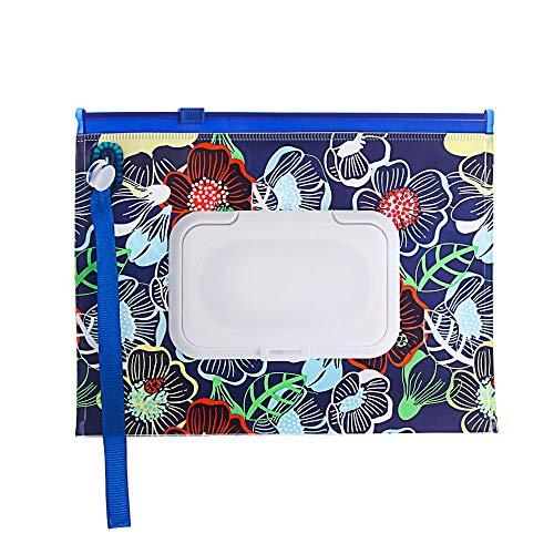 SunflowerU - Funda de transporte portátil para bebé, con correa a presión, accesorios para cochecito, toallitas húmedas, bolsa de pañuelos...