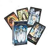 YUNDING Tarot Cards Tarot De Sueños Inglés Cartas Fortune Telling Ciro Marchetti Deck Divination Book Sets para Principiantes Juego