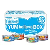 Purina Friskies Wet Cat Food Variety Pack, YUMbelievaBOX YUM-Sational Treasures - (40) 5.5 oz. Pull-Top Cans