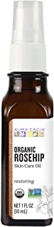 Aura Cacia - Organic Rosehip Oil | Certified Organic & Non-GMO Project Verified Skin Care | 1 fl. oz.
