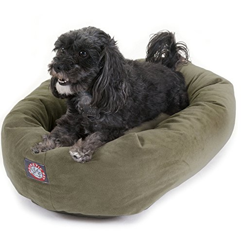 Suede Waterproof Dog Bed By Majestic Pet Products