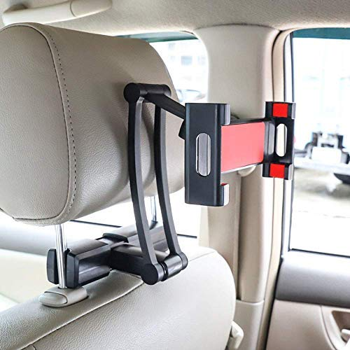 Worthown Tablet Holder for Car Ipad Headrest Mount 5-12.9 In Universal Backseat Holder Tablet Car Mount With 360 Degree Rotation for ipad,ipad Air,iPad Mini,Samsung Kindle Fire Galaxy all Tablets