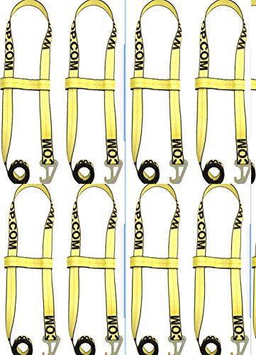 Best Price! BA Products Wheel Lift Strap (8) 2 Flat Hook 2 Piece Quick Pick Strap #38-JD5 x8 Jerr-D...