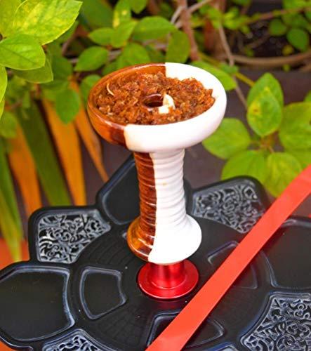Cazoleta phunnel premiun de ceramica para cachimba, diseñada por JERKSOS como...
