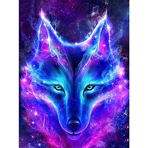 YGYGYG Puzzles de 1000 Piezas Pretty Blue Wolf Sea Art Juego de Ocio Juguete Decoración del hogar 75 * 50cm