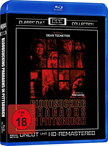 Bloodsucking Pharaos in Pittsburgh - Classic Cult Collection - Uncut (HD Remastered) [Blu-ray]