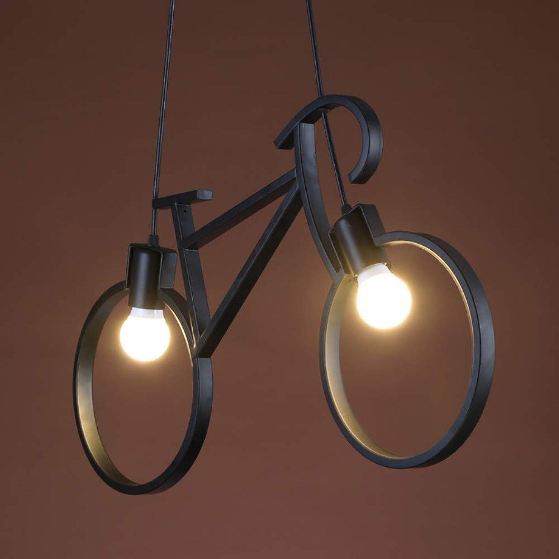 Klassische Fahrrad Pendelleuchte Moderne Metall Hngen Deckenleuchte Schatten Montage Industrial Loft Vintage Kronleuchter Lichter 1X E27 Basis (610  370mm)