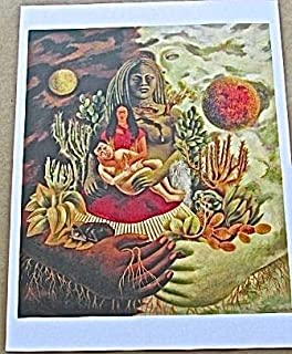 Frida Kahlo The Love Embrace of The Universe 13x10 Offset Lithograph