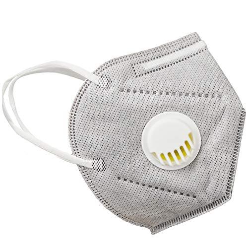 Wiederverwendbarer Gesicht- und Atmung Schutz gegen Staub, Pollen, Abgase, Luftverschmutzung