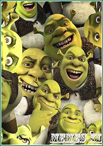 Shrek Hilarious XL - Funnies And jokes - World Class jokes People Funnies For All (English Edition)