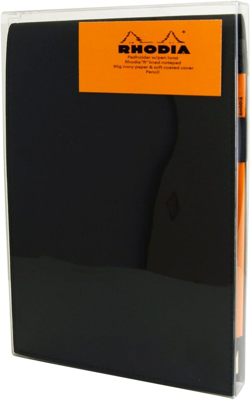 Rhodia Schwarz Notizblock Geschenk-Set 6X8.75 GefŸttert GefŸttert GefŸttert B008VGM24M | Langfristiger Ruf  87cf67