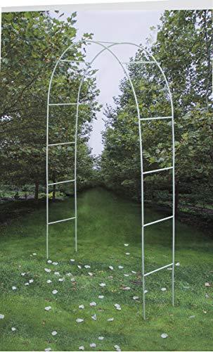 Darice Decorative 8 Foot Tall White Wedding Arch